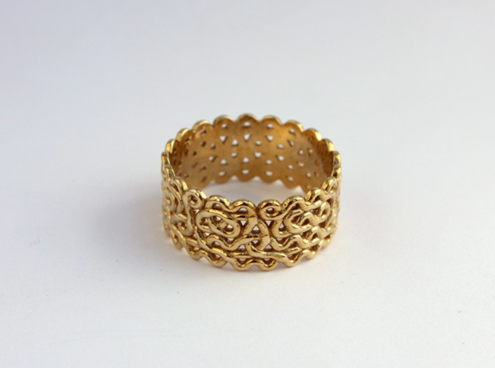 Plonter ring size 7 3d printed