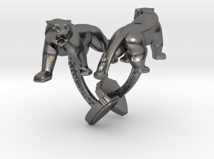 TwinTigers -Cuffs- 3d printed