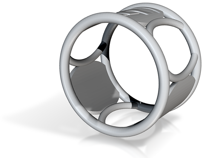 G Napkin Ring 3d printed