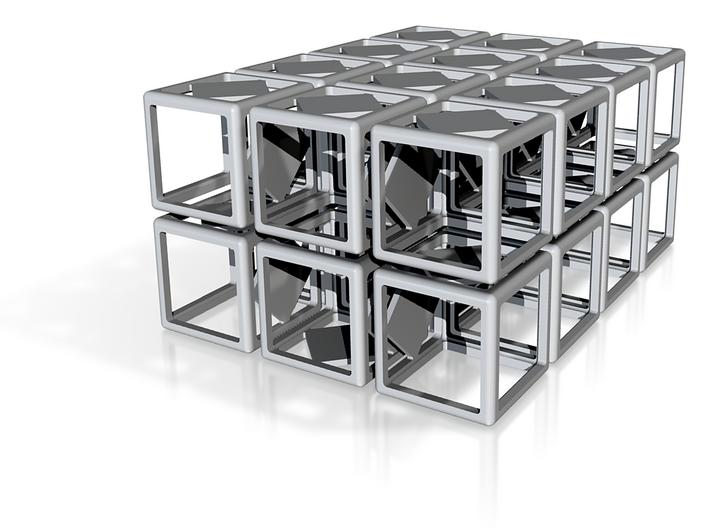 Cubes karo 21,65-21,70mm 3d printed