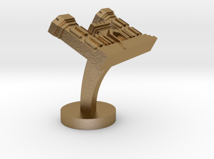 Combat Engineer Cufflinks 3d printed