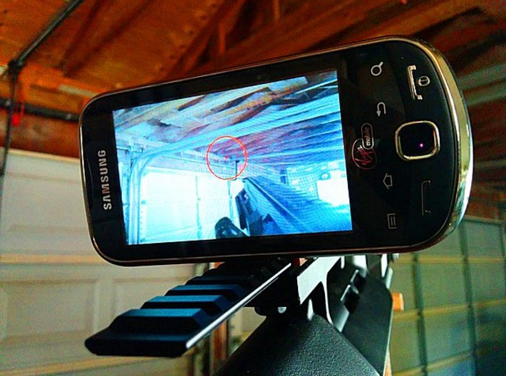 SmartPhone Picatinny Mount 3d printed