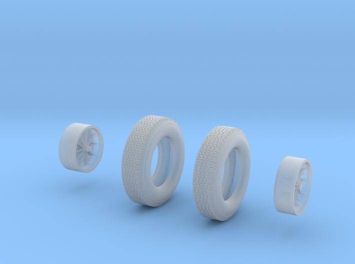 Scarabwheels 3d printed