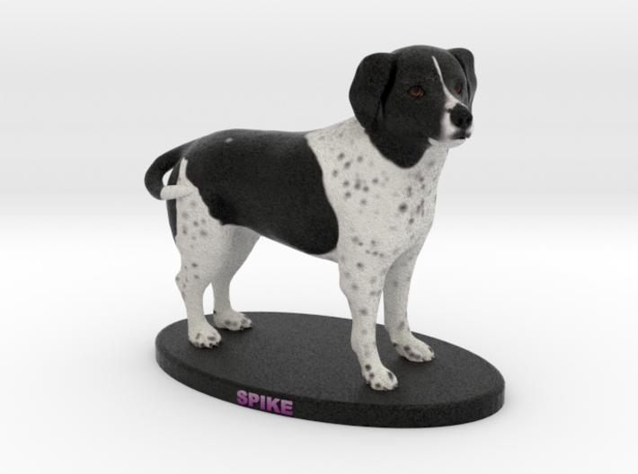 Custom Dog Figurine - Spike 3d printed