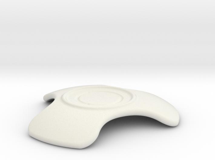 'Dark coffee' saucer 3d printed