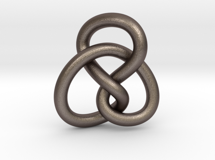 Abstract Knot Pendant for Sailors and Ocean Lovers 3d printed