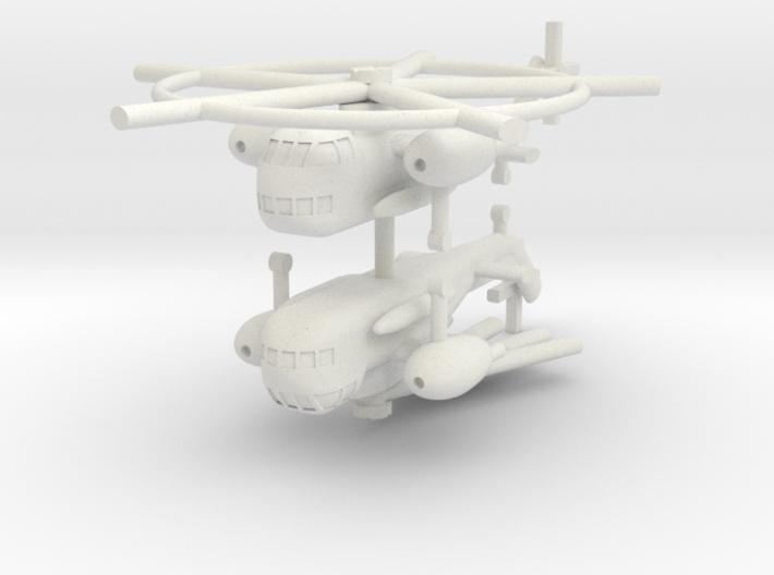 1/285 Sikorsky CH-37 Mojave (x2) 3d printed