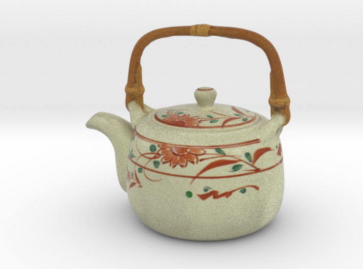 The Asian Teapot-2 3d printed