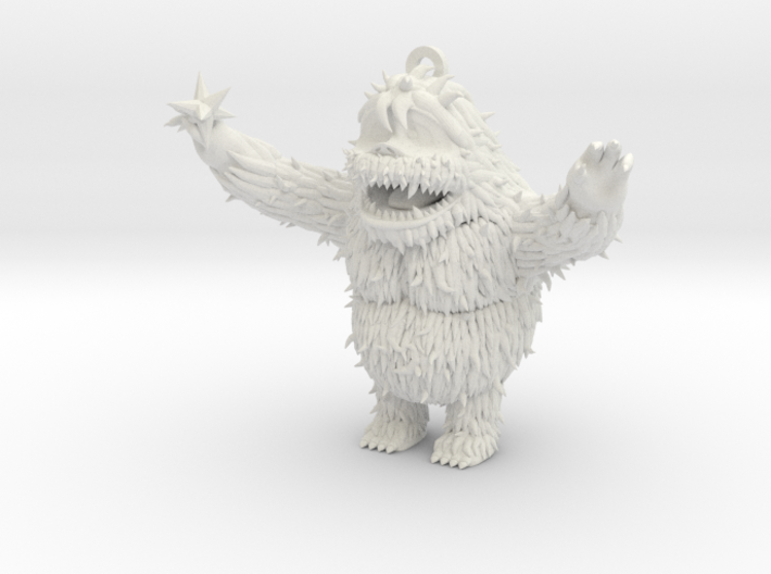AbomSnow FromDec5 11 5cmTall ForShapeways With S 3d printed
