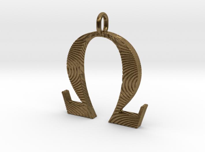 Omega Pendant for vapers - 20mm 3d printed