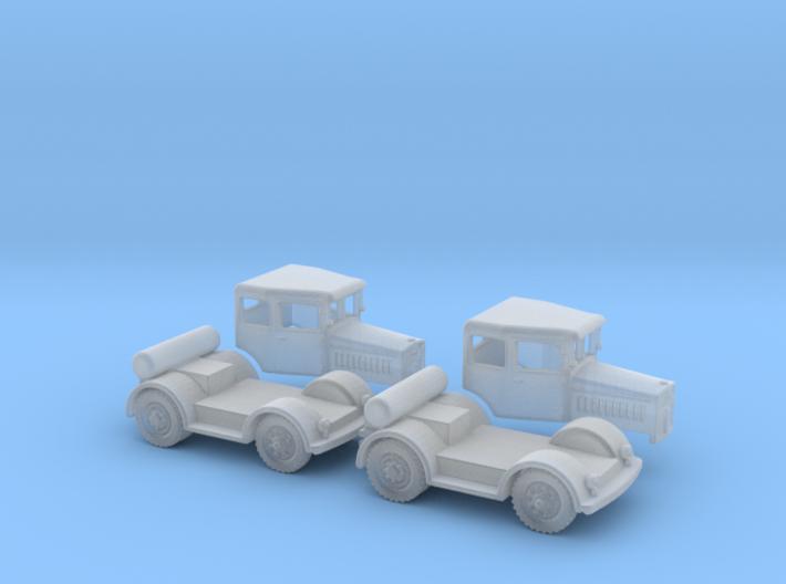 Kaelble Z6G Doppelkabine 2x Bausatz 1:220  3d printed