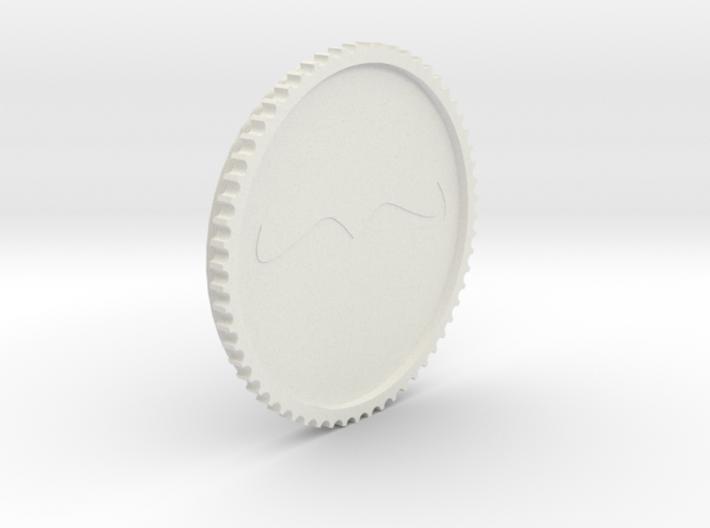 Schnurrbart Mustache Lens Cap 55mm/62mm 3d printed