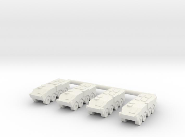 1/285 Type 96 APC (x4) 3d printed