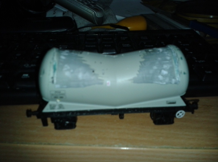 5 oo Scale EWS CSA tank conversion parts 3d printed