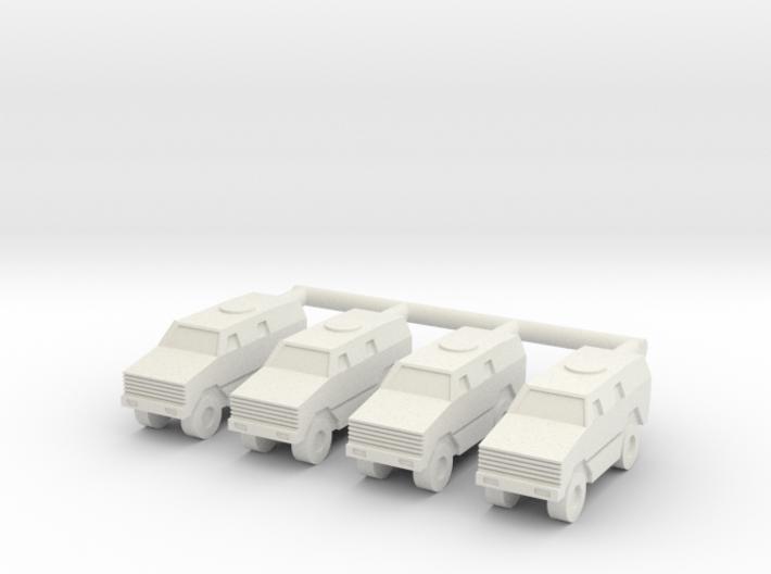1/285 ATF Dingo Company (x4) 3d printed