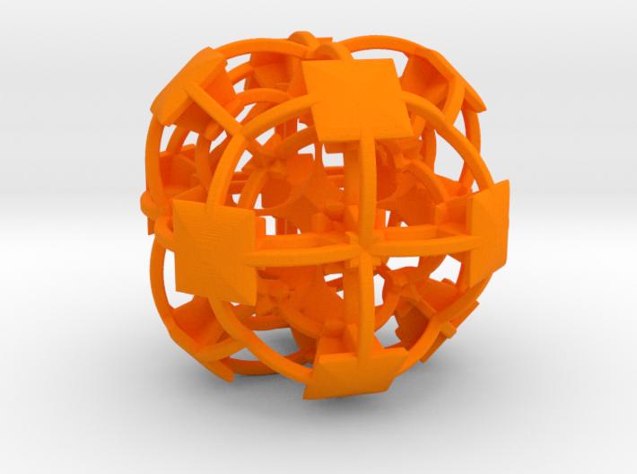 Complex Fractal 50mm V2 3d printed
