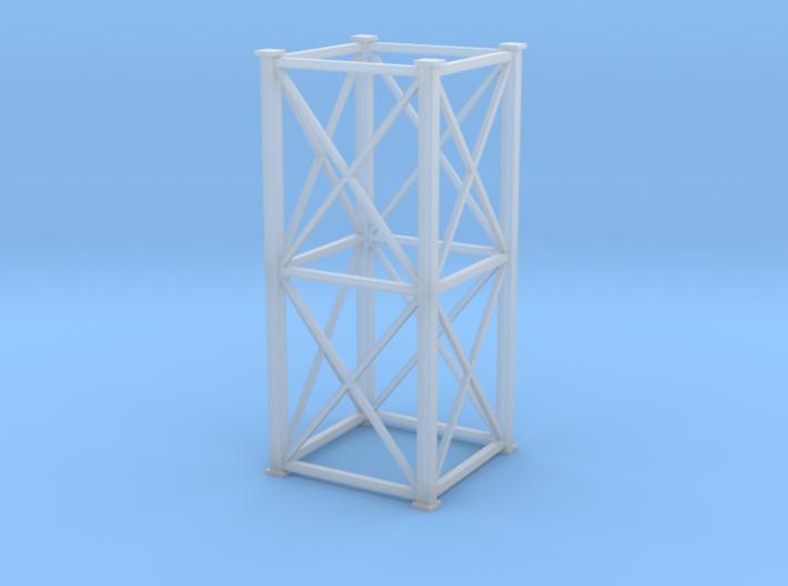 'N Scale' - 8'x8'x20' Tower 3d printed