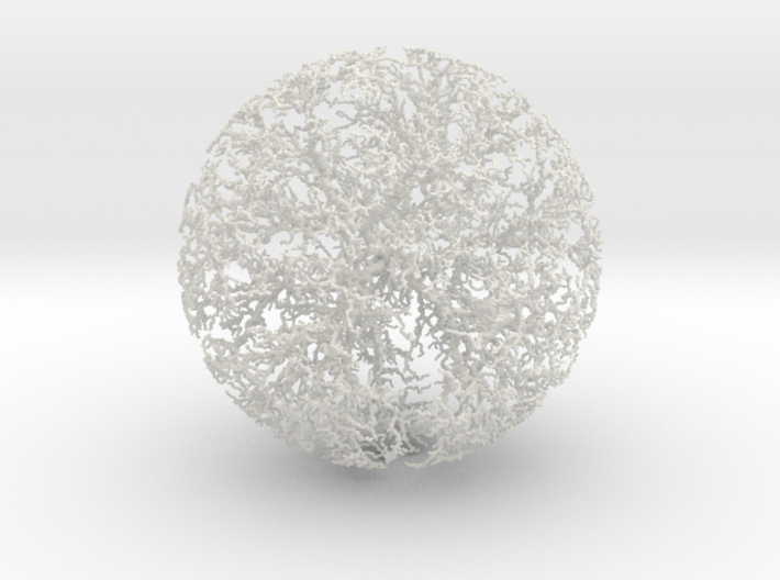 Spherical Dendrite, 2/50 3d printed