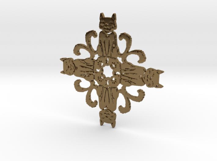 Catflake 3d printed
