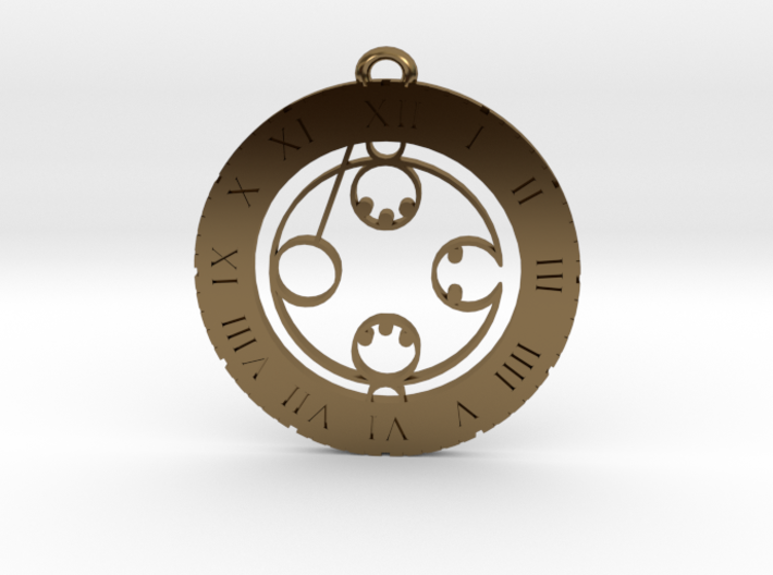 Lachlan - Pendant 3d printed