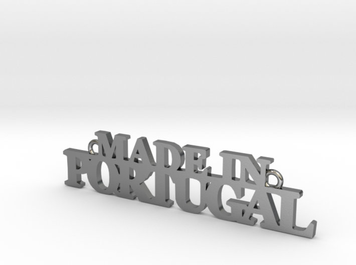 Made in PORTUGAL Pendant 3d printed
