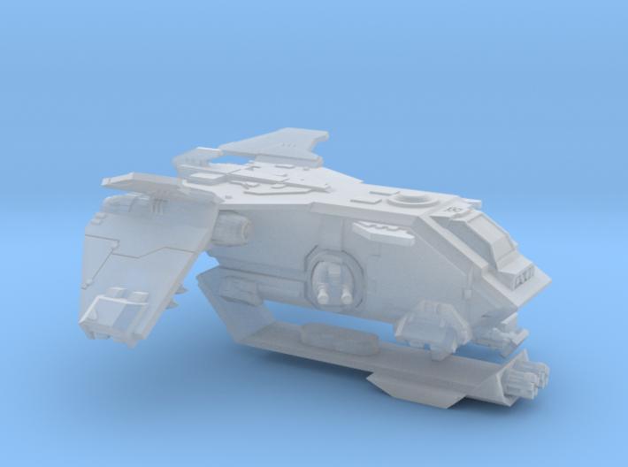 6mm Fireturkey Gunship 3d printed
