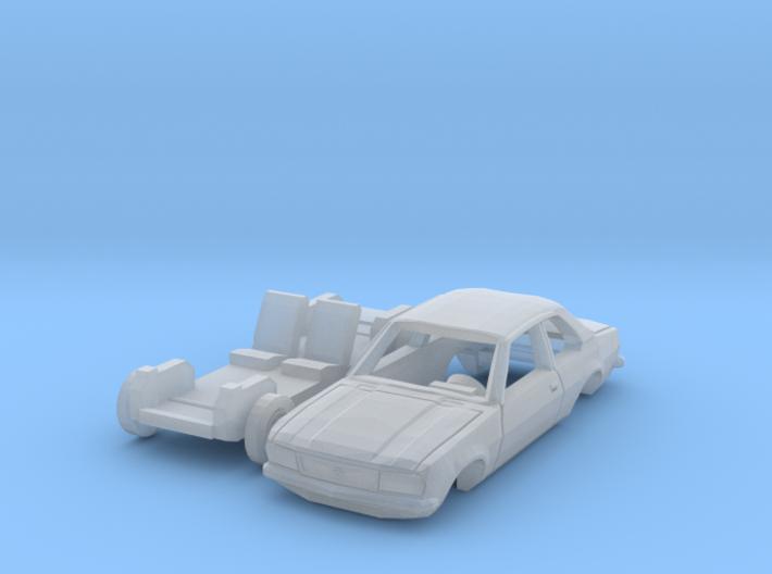 Opel Ascona B (N 1:160) 3d printed