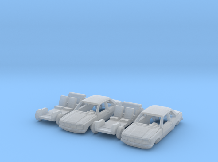 SET 2x Opel Ascona B (N 1:160) 3d printed