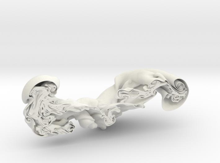Triple Fluid Collision, 1/50 3d printed