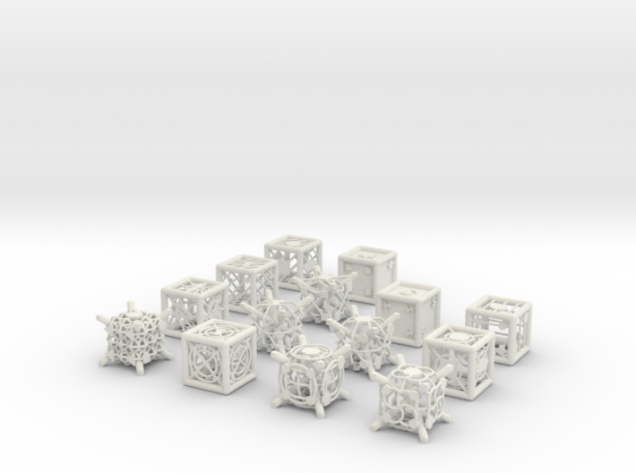Grid Die All Pack 10 of 13 3d printed