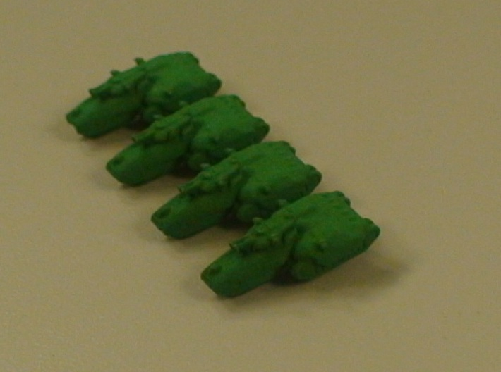 Charger Medium Tracked Armor - 3mm 3d printed