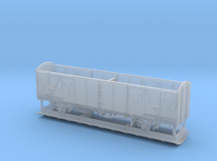 1/160 Gedeckter Fährbootwagen Gbmhs 51 3d printed