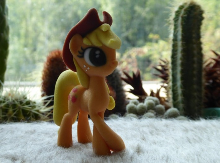 Applejack 3d printed