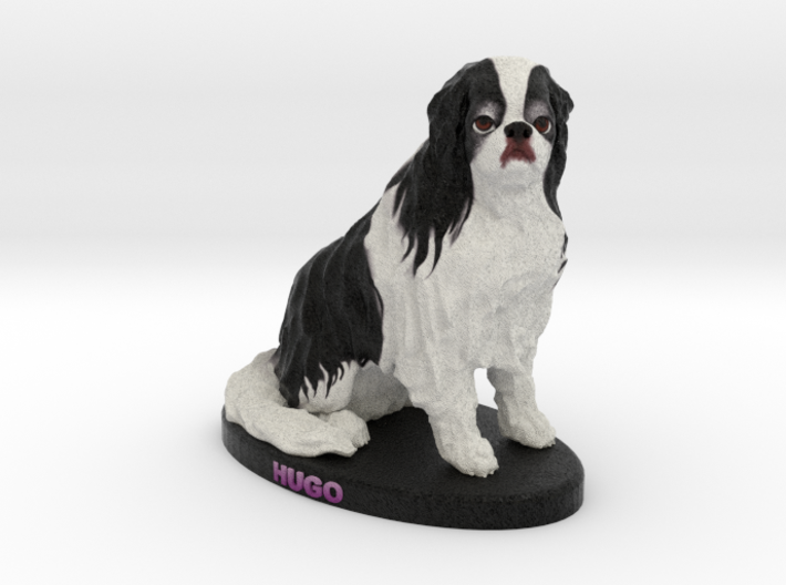 Custom Dog Figurine - Hugo 3d printed