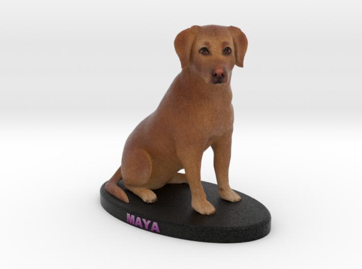 Custom Dog Figurine - Maya 3d printed