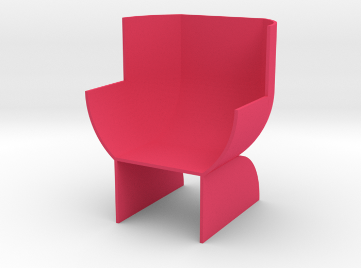 Doll's chair 3d printed