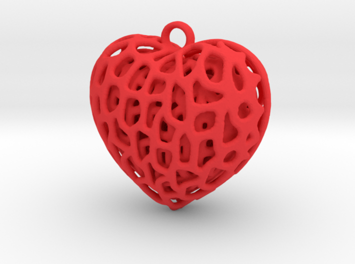 Three Hearts Embraced 3d printed