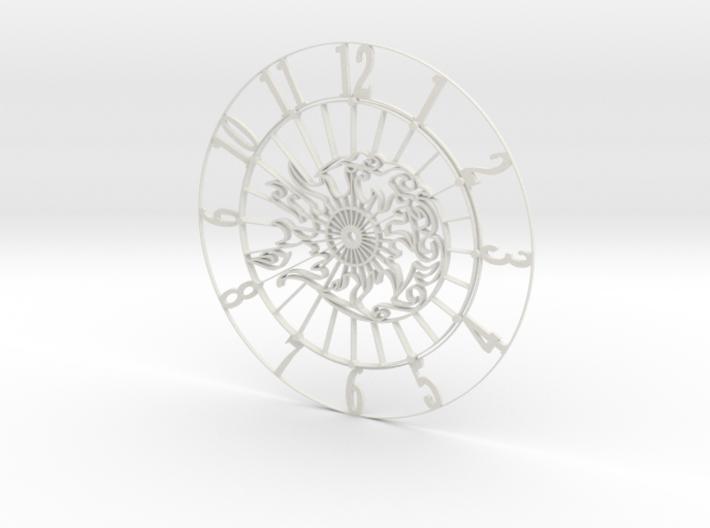 Sun-Moon Clock Face 3d printed