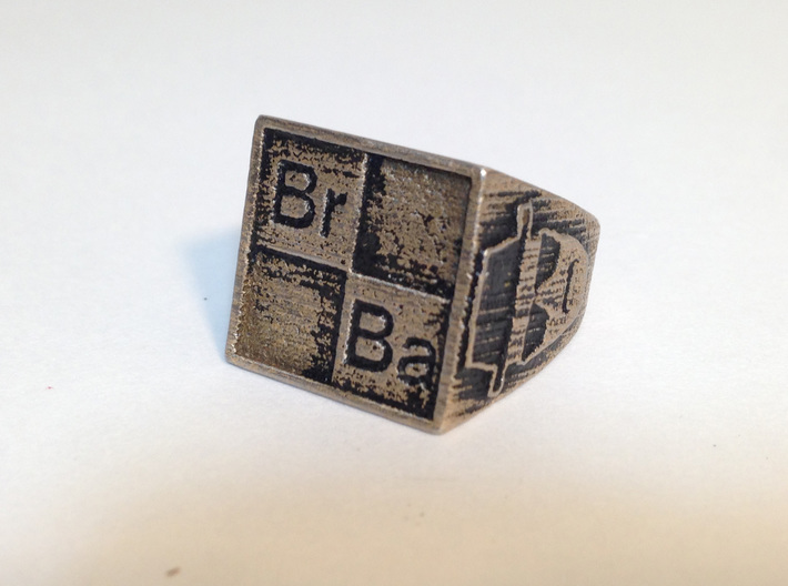 BrBa ring size 8 3d printed