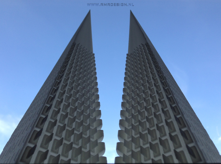 Perspective Towers 3d printed