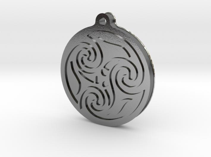 Pagan pendant 3d printed