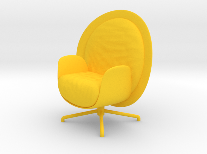 ZON Lounge Chair by RJW Elsinga 1:10 3d printed ZON Lounge Chair by RJW Elsinga 1:10