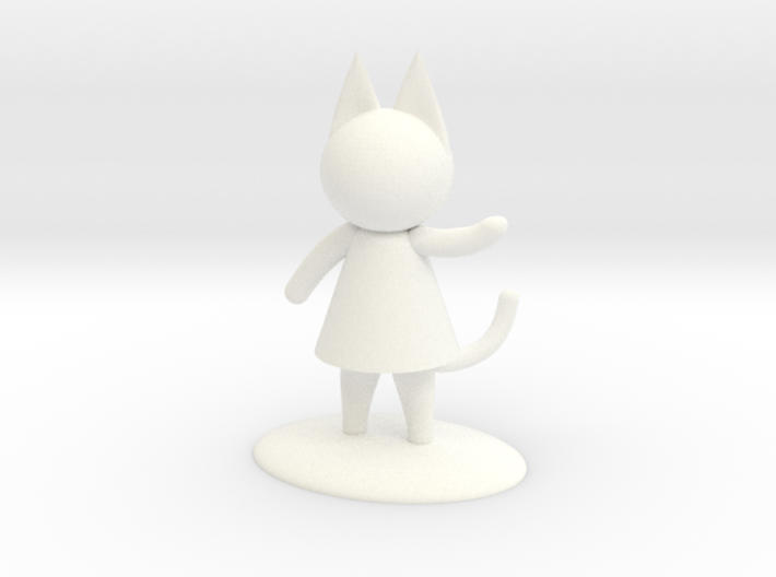 Paint your own Cat Person 3d printed