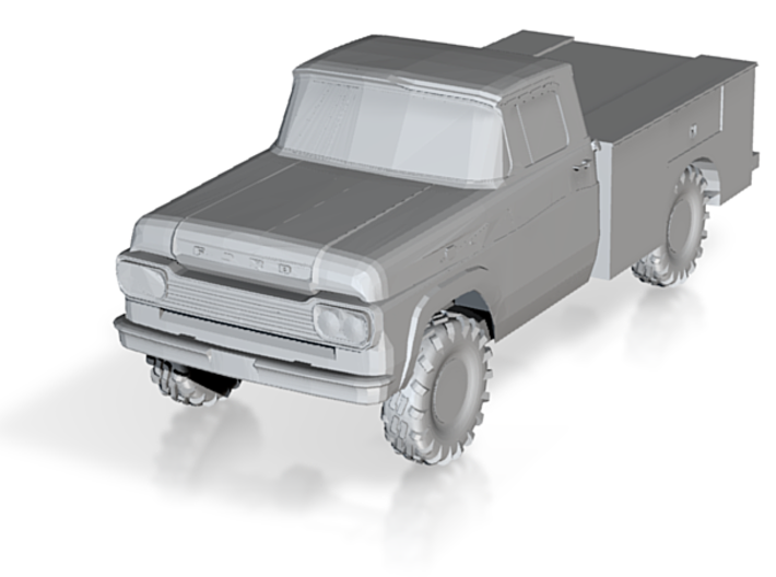 1959 Ford F-250 Utility Truck 1/87 3d printed