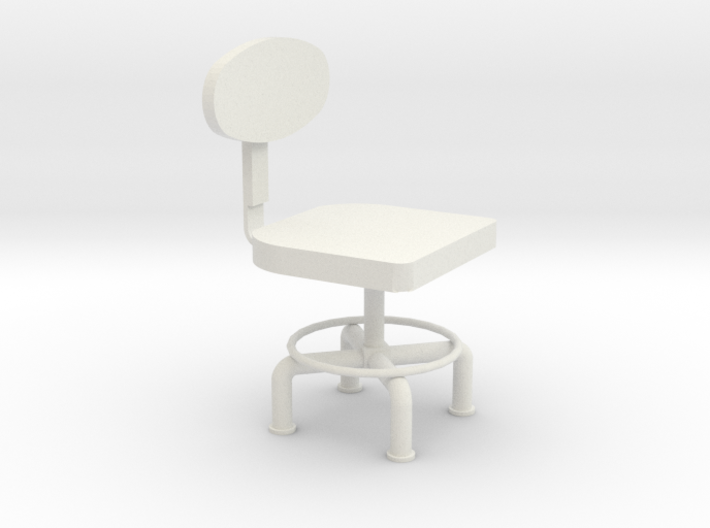 HTLA office chair 10% 3d printed