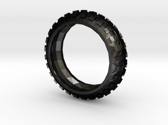 Motorcycle/Dirt Bike/Scrambler Tire Ring Size 13 3d printed