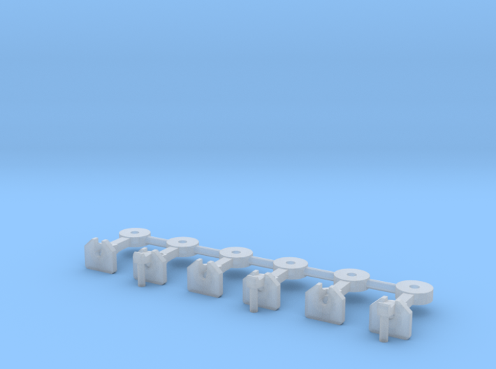 Nz120 Nzr Coupler - 3x Pairs Square 3d printed
