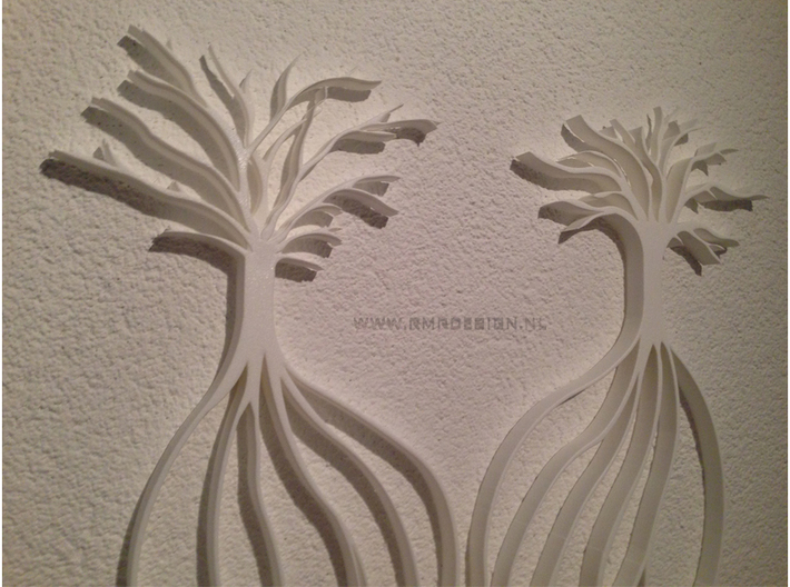 Heart The Beginning of life - Big 3D printed wall  3d printed