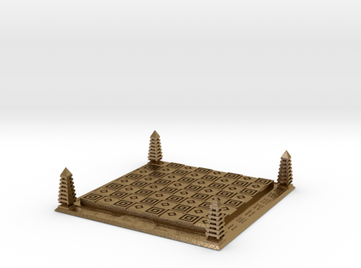Chess of Egypt 3d printed