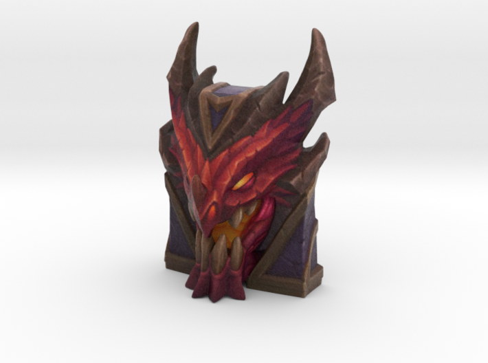 Braum - Dragonslayer Shield - 50mm 3d printed